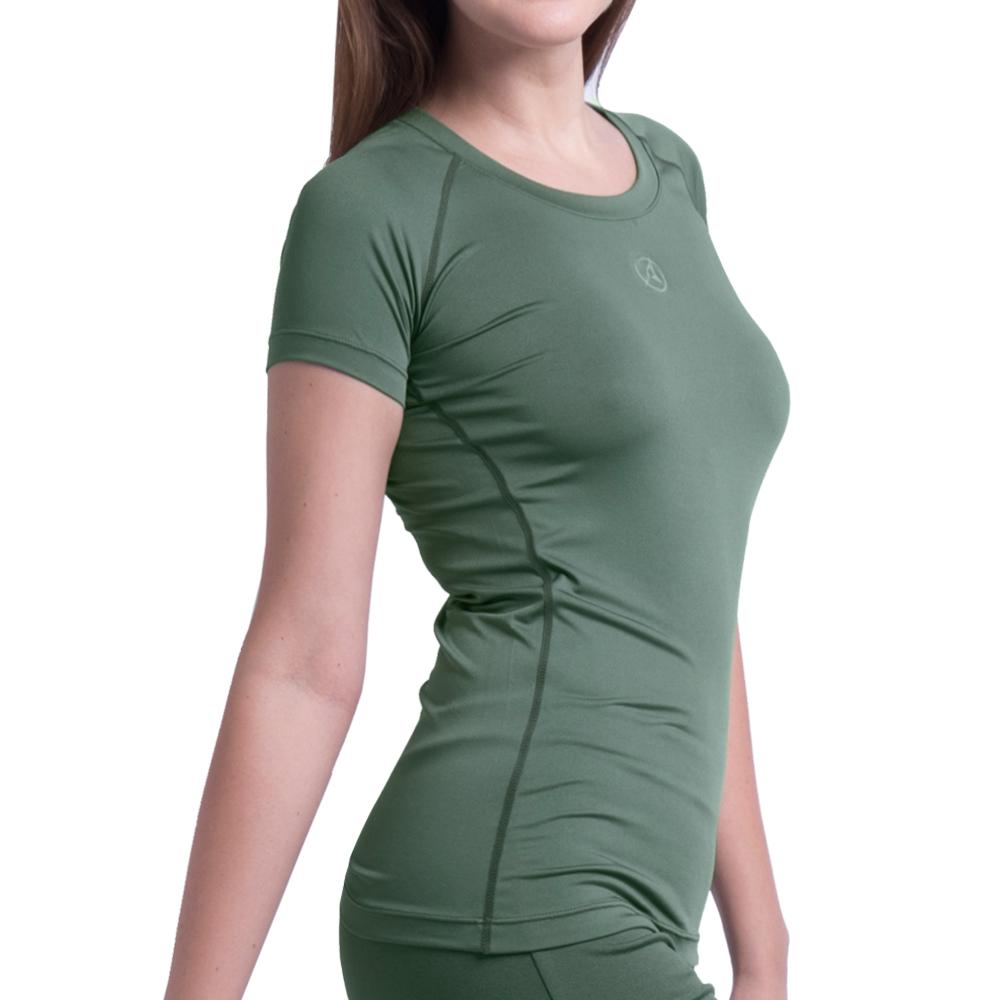 아르메데스 여성용 요가복 반팔 티셔츠 R-231