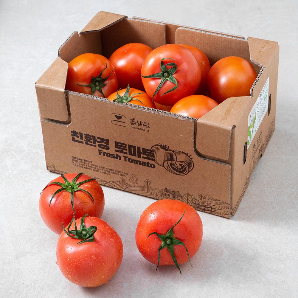 친환경 인증 완숙 토마토, 3kg, 1개