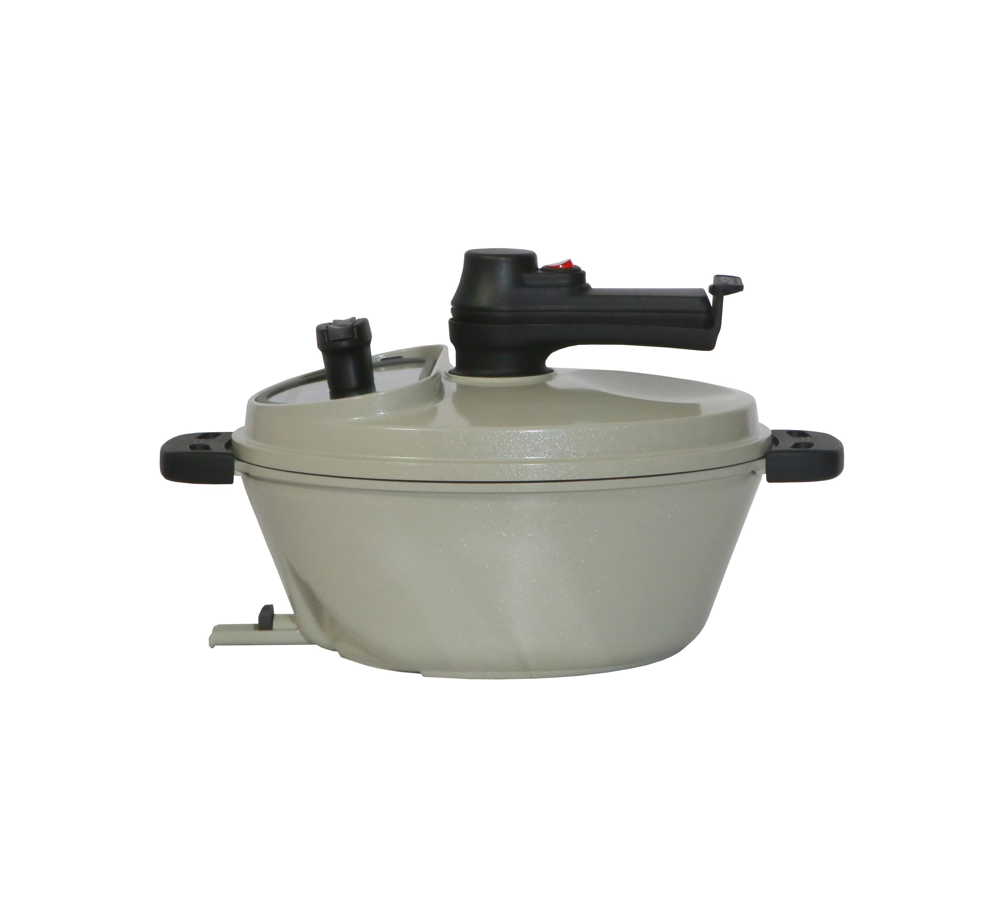 램프쿡 일립스 자동요리기 + 뚜껑 실리콘패킹, 1세트, 372 x 258 x 218 mm