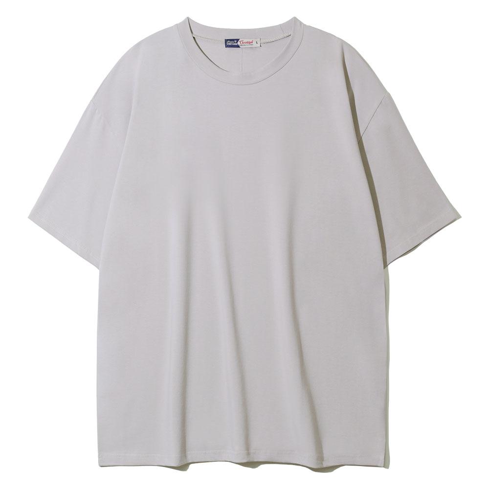 크루클린 남녀공용 기능성 드라이 쿨링 스판 무지 오버핏 반팔 티셔츠 TRS-220
