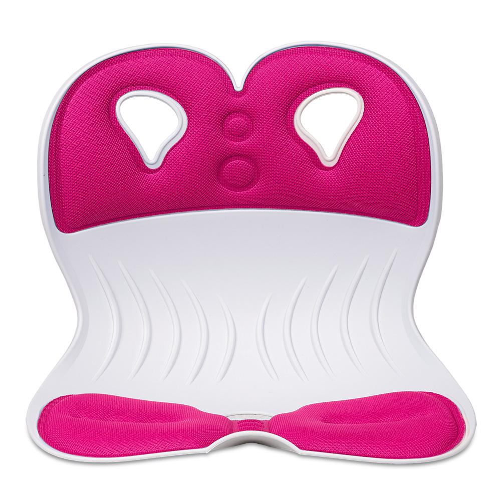 레이체어 와이드 자세보정의자, 핑크