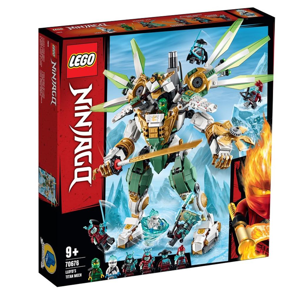레고 닌자고 로이드의 타이탄 로봇 70676, 혼합 색상