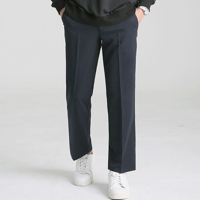 업클라스 남성용 겨울용 시크릿밴딩 기모 와이드 슬랙스 c101z