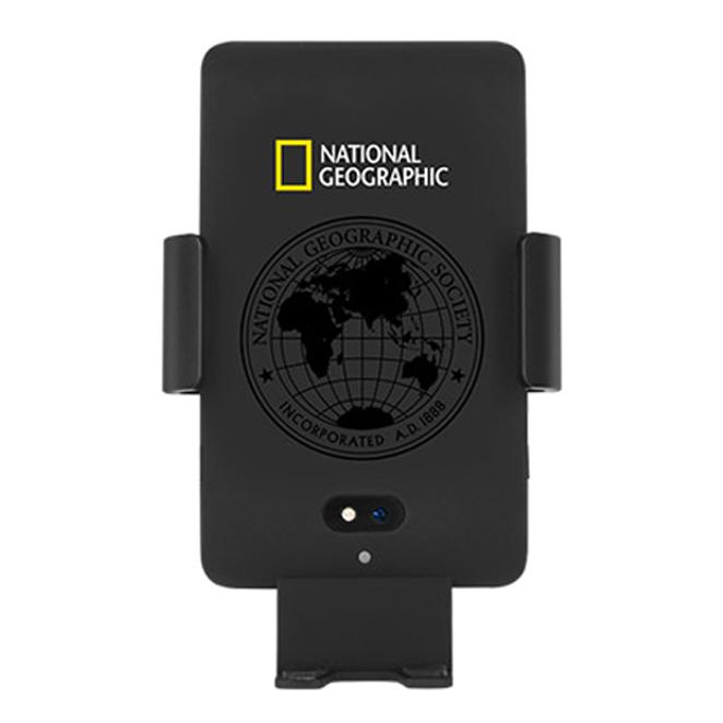 내셔널지오그래픽 차량용 음성인식 고속 무선 충전기, NGM-VOWC/PCP, PC + 매트블랙
