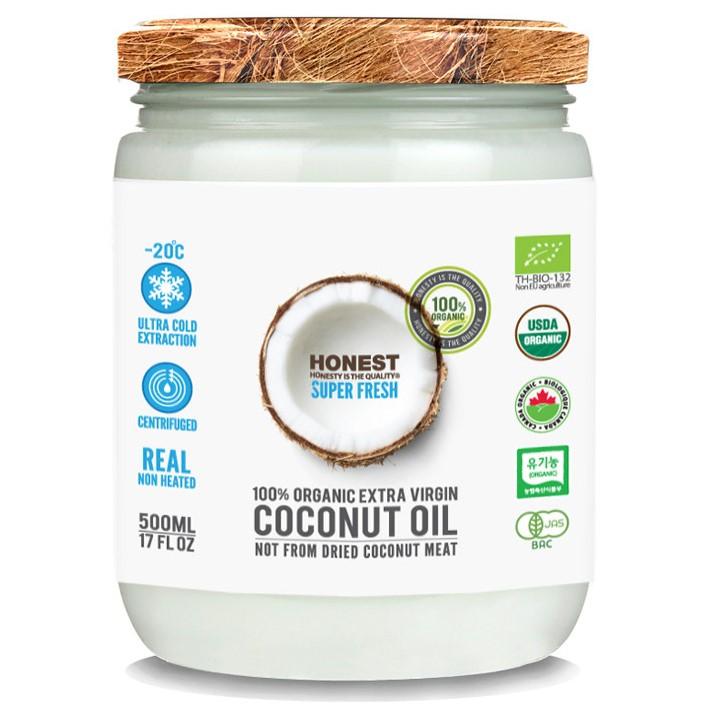 어니스트 유기농 엑스트라버진 코코넛오일 500ml, 1개