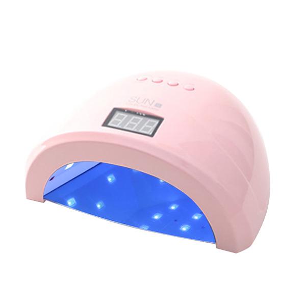 SUN1 LED/UV 젤네일 램프 48W, 핑크, 1개