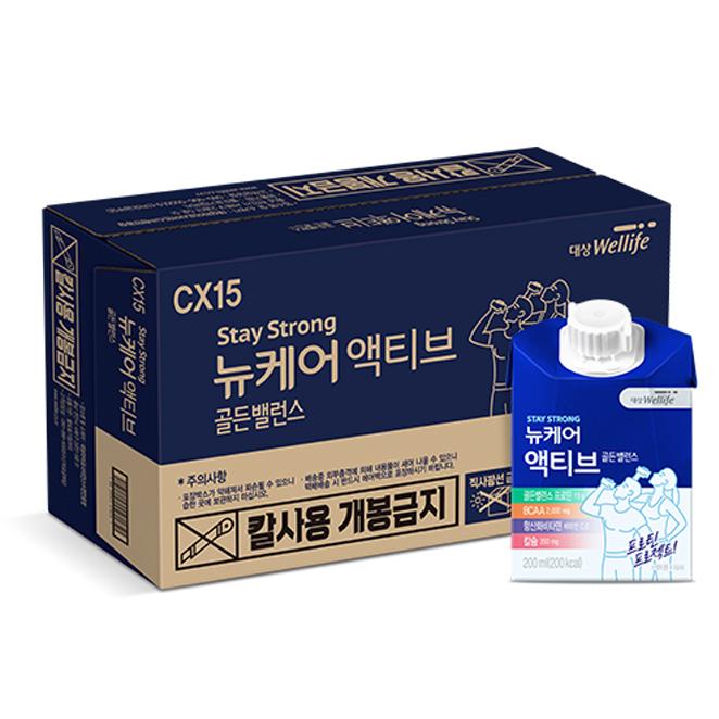 뉴케어 액티브 건강음료, 200ml, 24팩