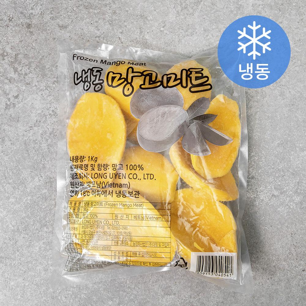 웰프레쉬 망고미트 (냉동), 1kg, 1개