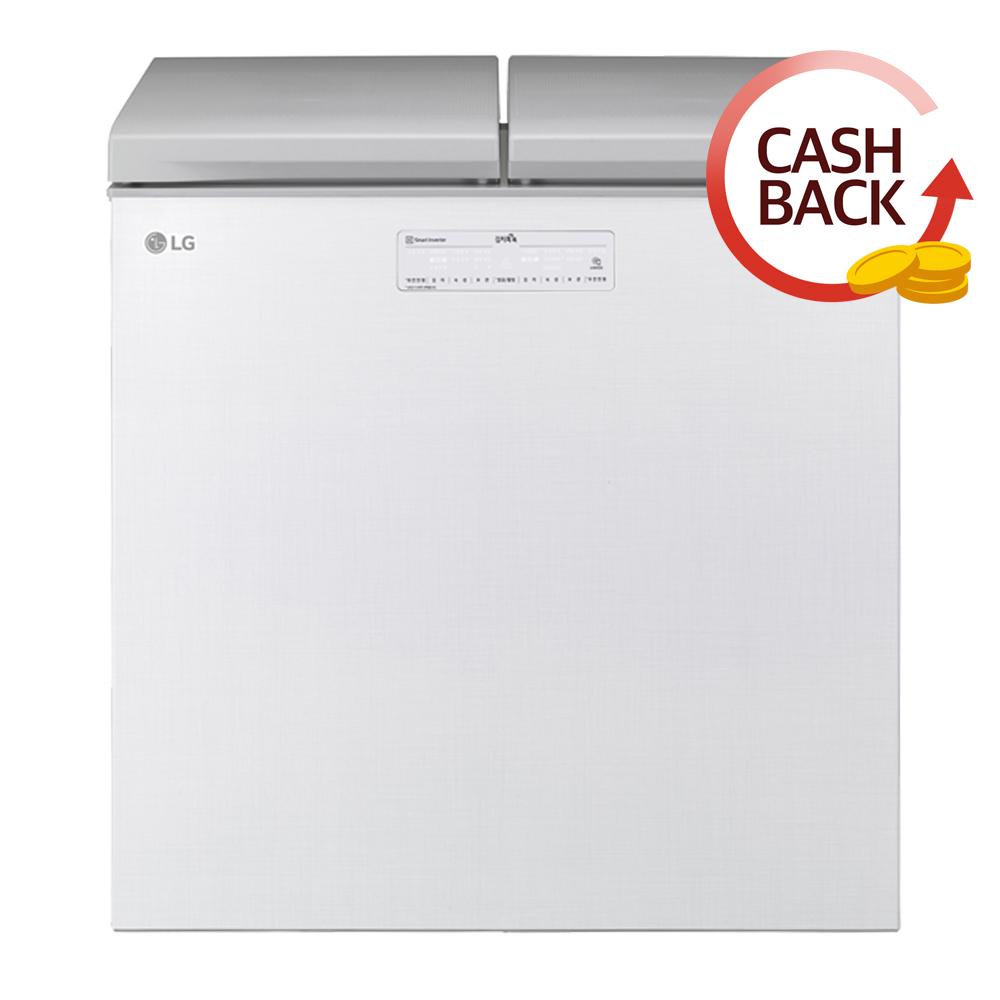 LG전자 DIOS 톡톡 뚜껑형 김치냉장고 K225LW12E 219L 방문설치