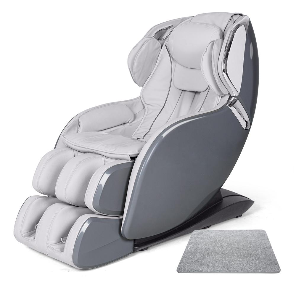 제스파 레이츠 4D 안마의자 + 전용 러그 세트 방문설치, ZPC2002, 모던그레이-7-5080441353