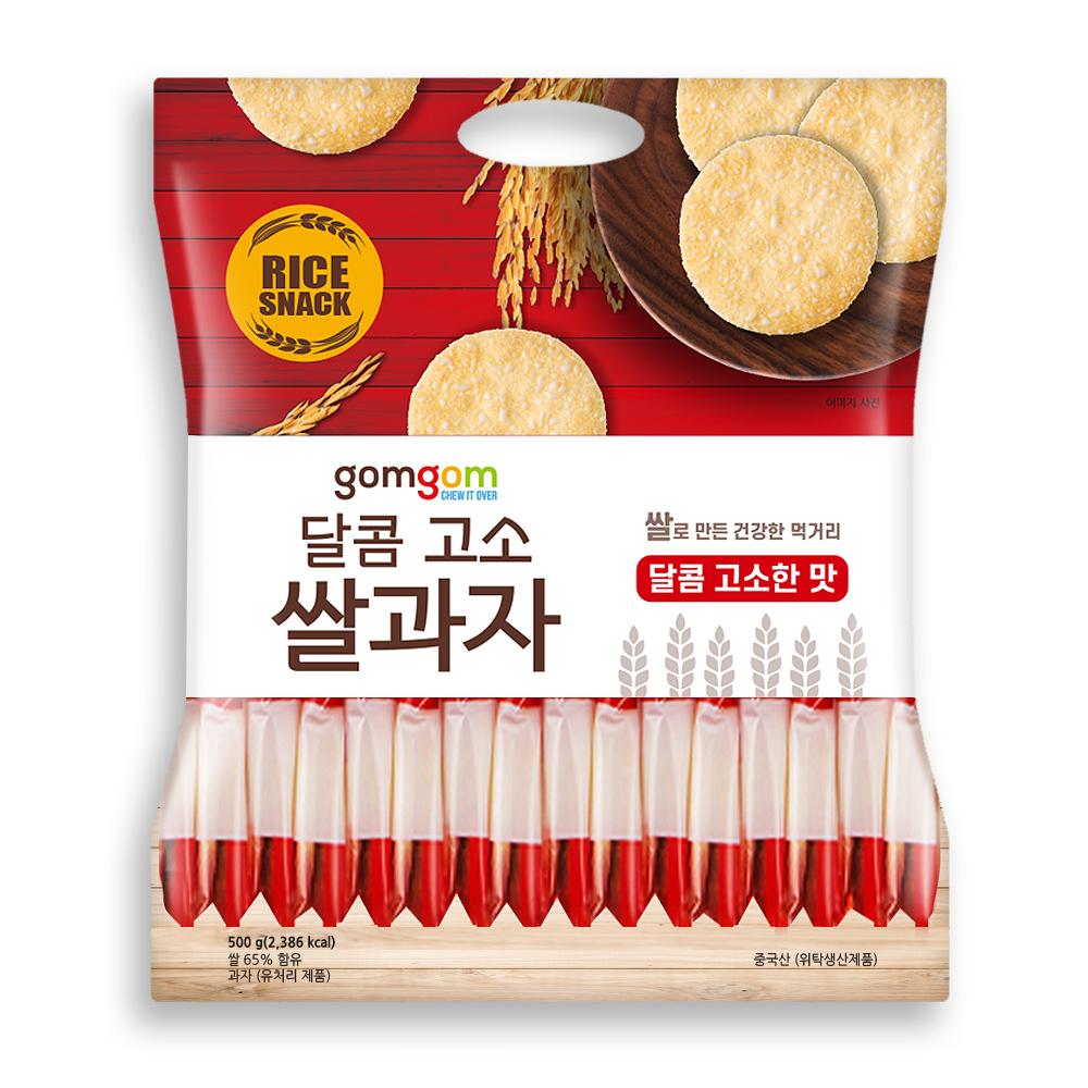 곰곰 쌀과자, 달콤 고소, 500g, 1개