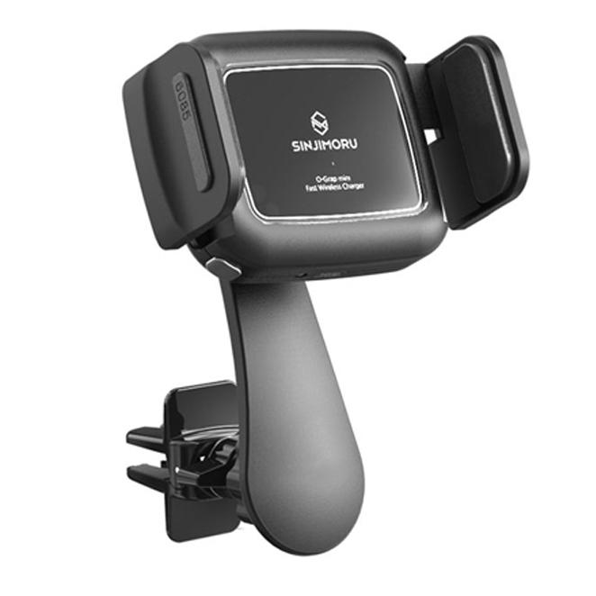 신지모루 오그랩미니 차량용 무선충전 핸드폰 거치대, 1개, 혼합 색상