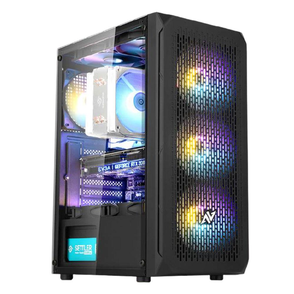 아싸컴 게임용 조립 PC AS-IM25V7W (라이젠5 마티스 3500X WIN10 Home DDR4 16GB SSD 240GB GTX1660 슈퍼) + 게이밍 장패드, 기본형