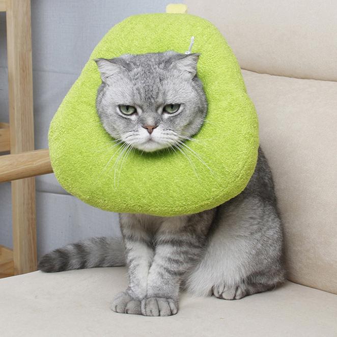 정글몬스터 강아지 고양이 아보카도 넥카라 S, 1개