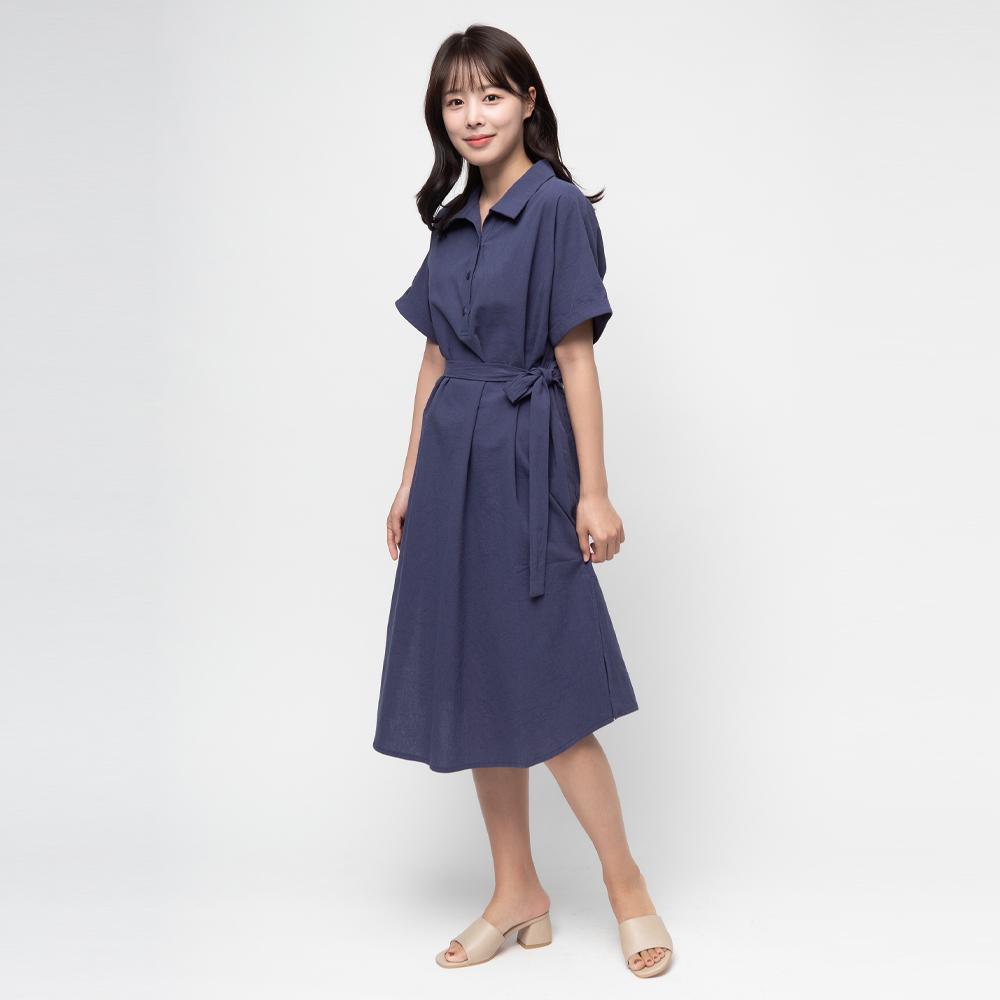 [여성패션] 캐럿 여성용 반팔 셔츠 면 원피스 - 랭킹19위 (19900원)