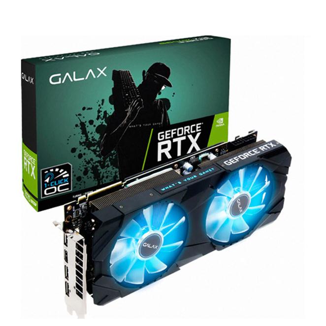 갤럭시 GALAX 지포스 SUPER EX BLACK OC D6 8GB 그래픽카드 RTX2070