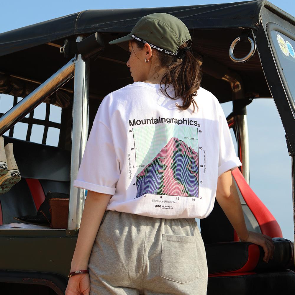 플루크 마운틴 그래픽 앨티머터 반팔 티셔츠 FST147
