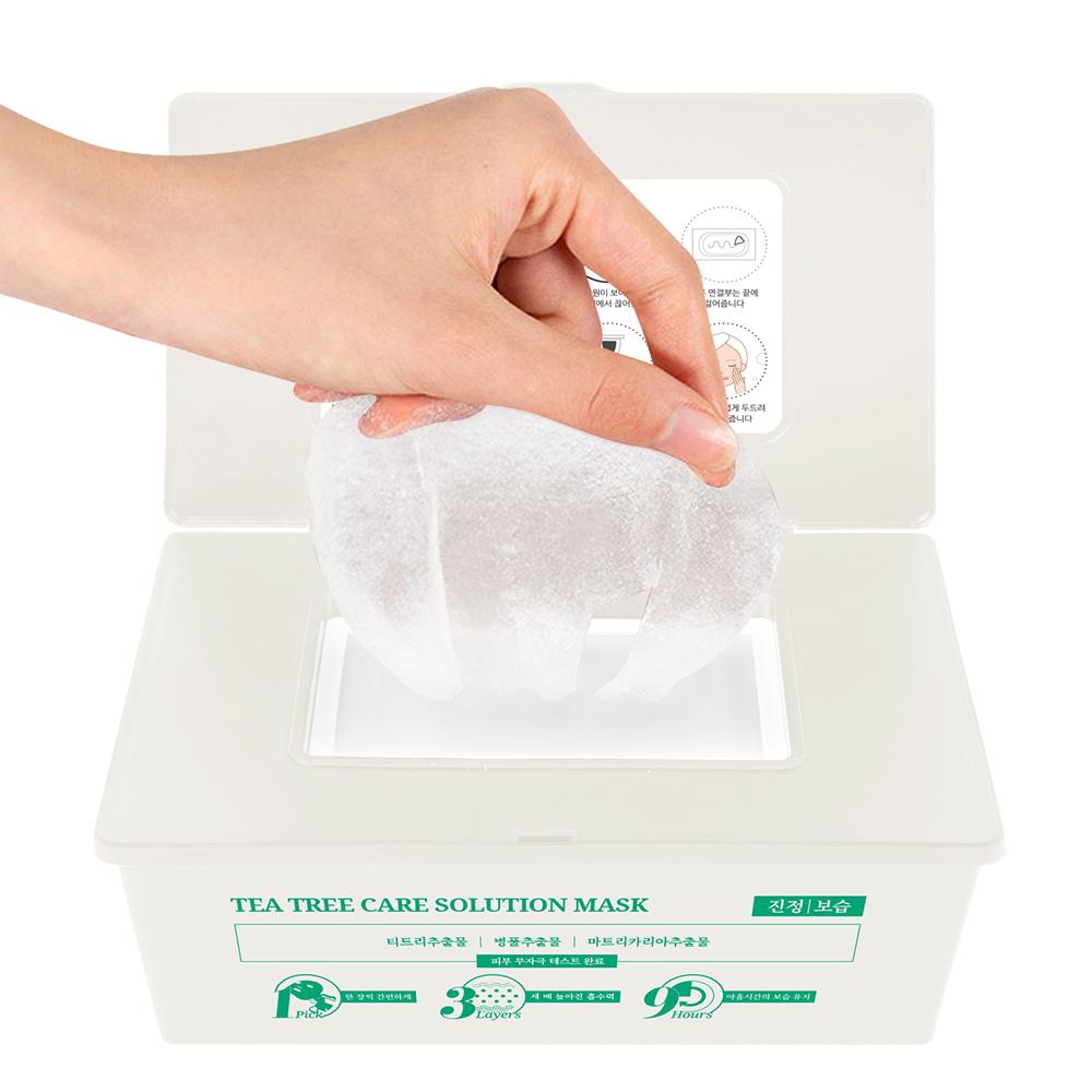 제이에이치피 139 티트리 케어 솔루션 에센스 마스크팩, 1개, 30개입