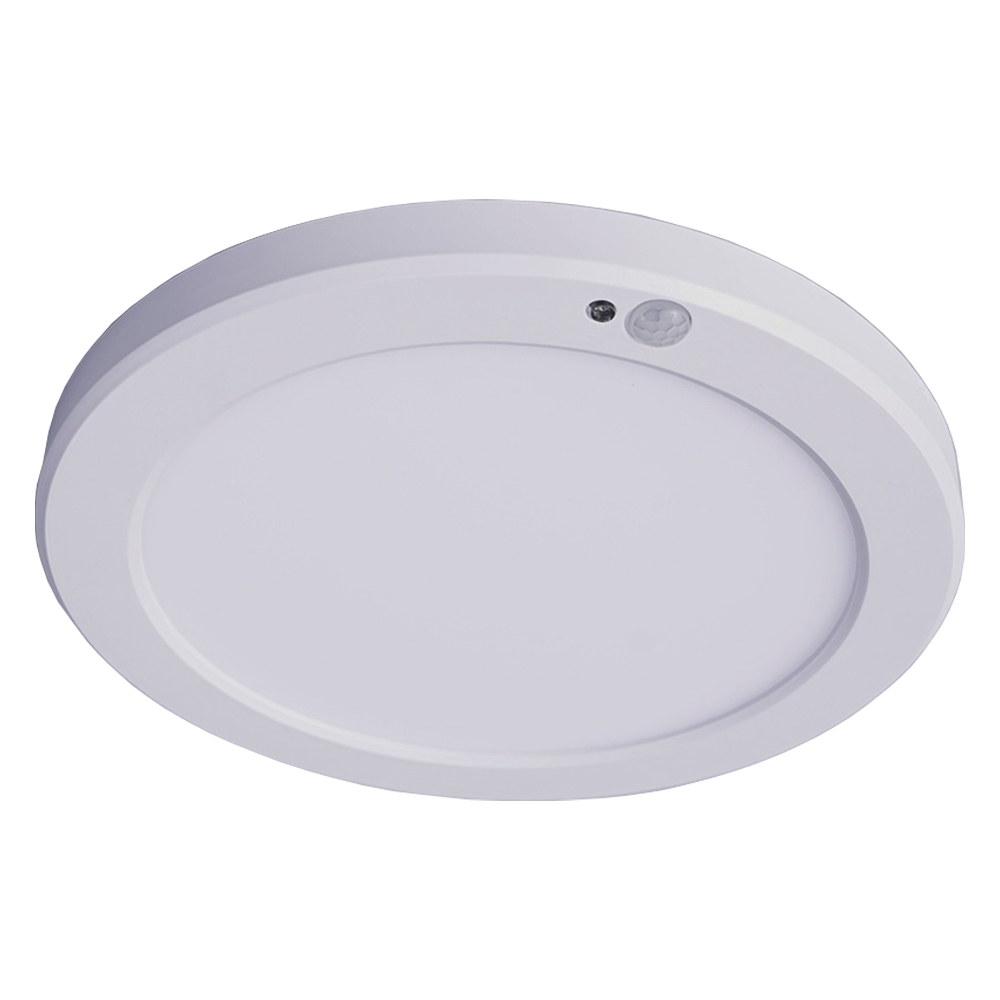 퍼스트 뉴스마트엣지 LED 원형 센서등 20W, 주백색