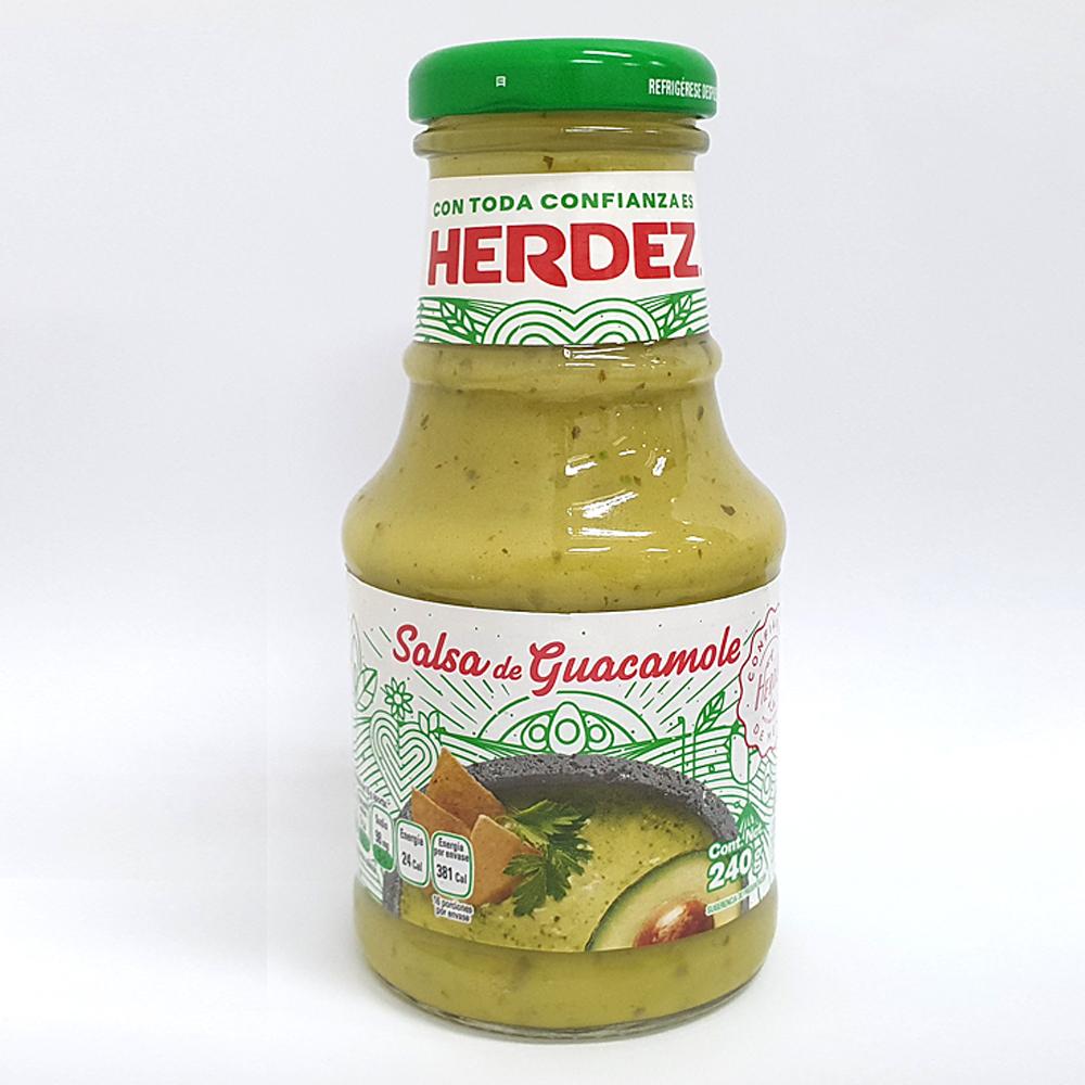 헤르데즈 아보카도 과카몰리 소스, 240g, 1개