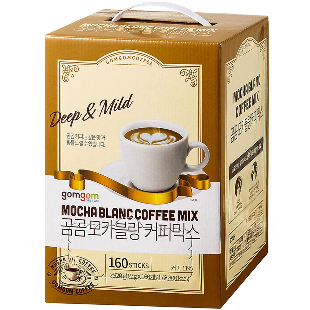 곰곰 모카블랑 화이트 커피믹스, 12g, 160개