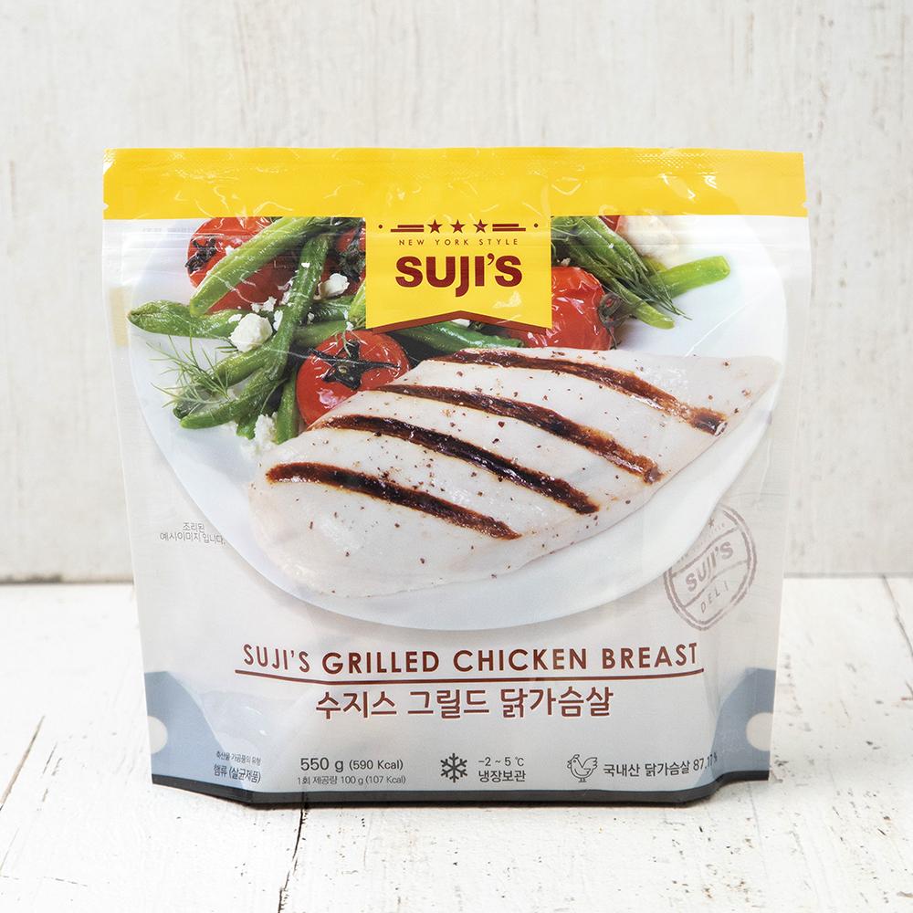 수지스 그릴드 닭가슴살, 550g, 1개