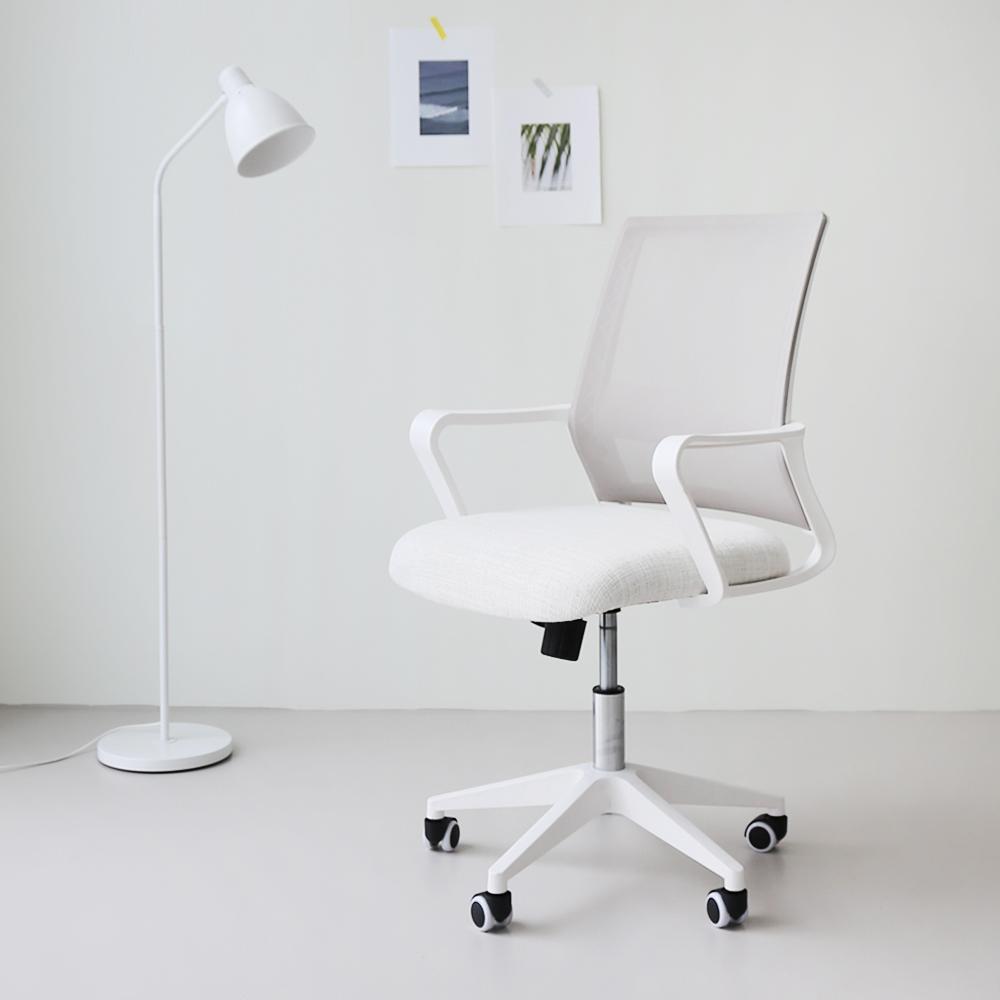 코시나 스파인S 메쉬 의자 K100W, 화이트
