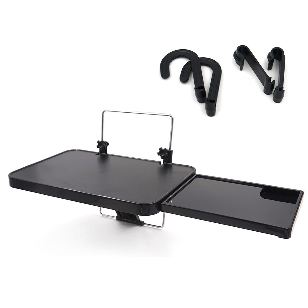 삼에스 차량용 다용도 테이블 2세대 + 앞좌석고리 2p + 뒷자석고리 2p 세트, 1세트