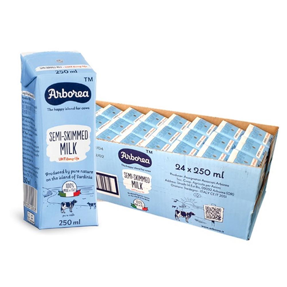 아르보리아 저지방 우유, 250ml, 24개