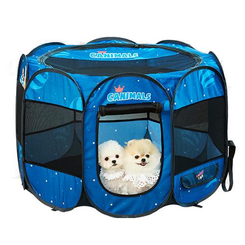 캐니멀 강아지 텐트, 스페이스 블루