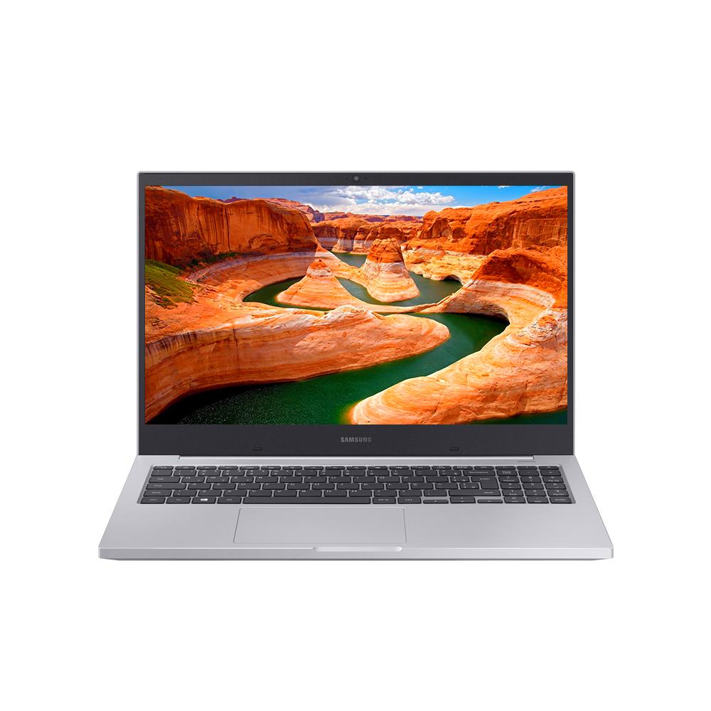 삼성전자 노트북 플러스 NT550XCR-AD1A 플래티넘 티탄 (Celeron 5205U 39.6cm), NVMe 128GB, 4GB, WIN10 Home