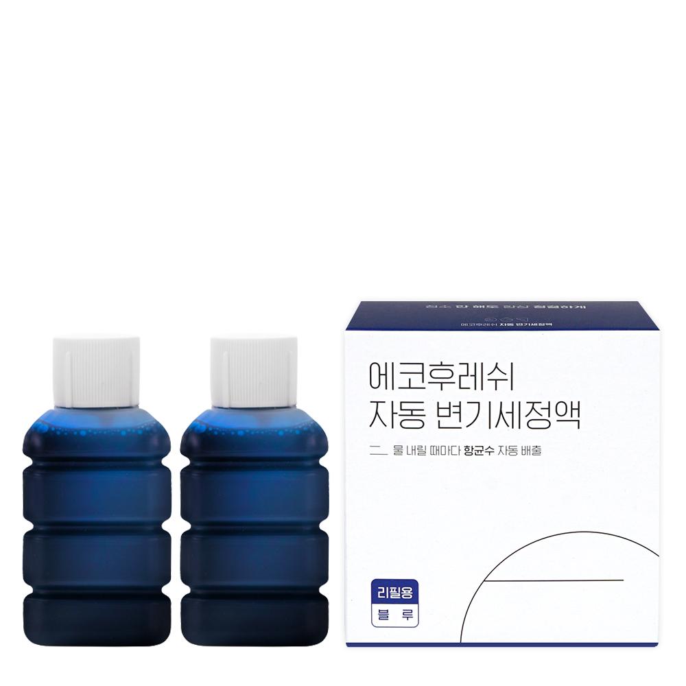 에코후레쉬 디망쉬 자동 변기세정액 리필용, 100ml, 2개