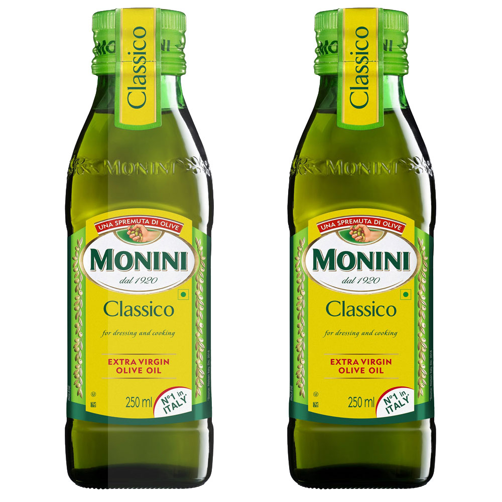 모니니 클래시코 엑스트라 버진 올리브오일, 250ml, 2개