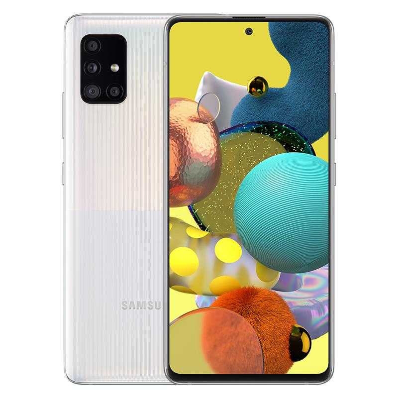 삼성전자 갤럭시 A51 5G 휴대폰 SM-A516N, 공기계, 프리즘 큐브 화이트, 128GB