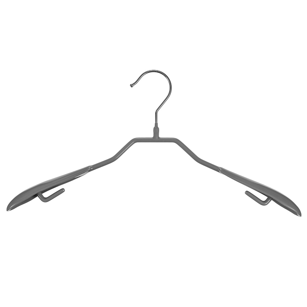 코멧 홈 논슬립 자켓 옷걸이, 그레이, 20개입