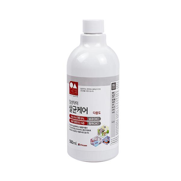 일상닥터 살균케어 다용도 살균소독제 리필, 500ml, 1개