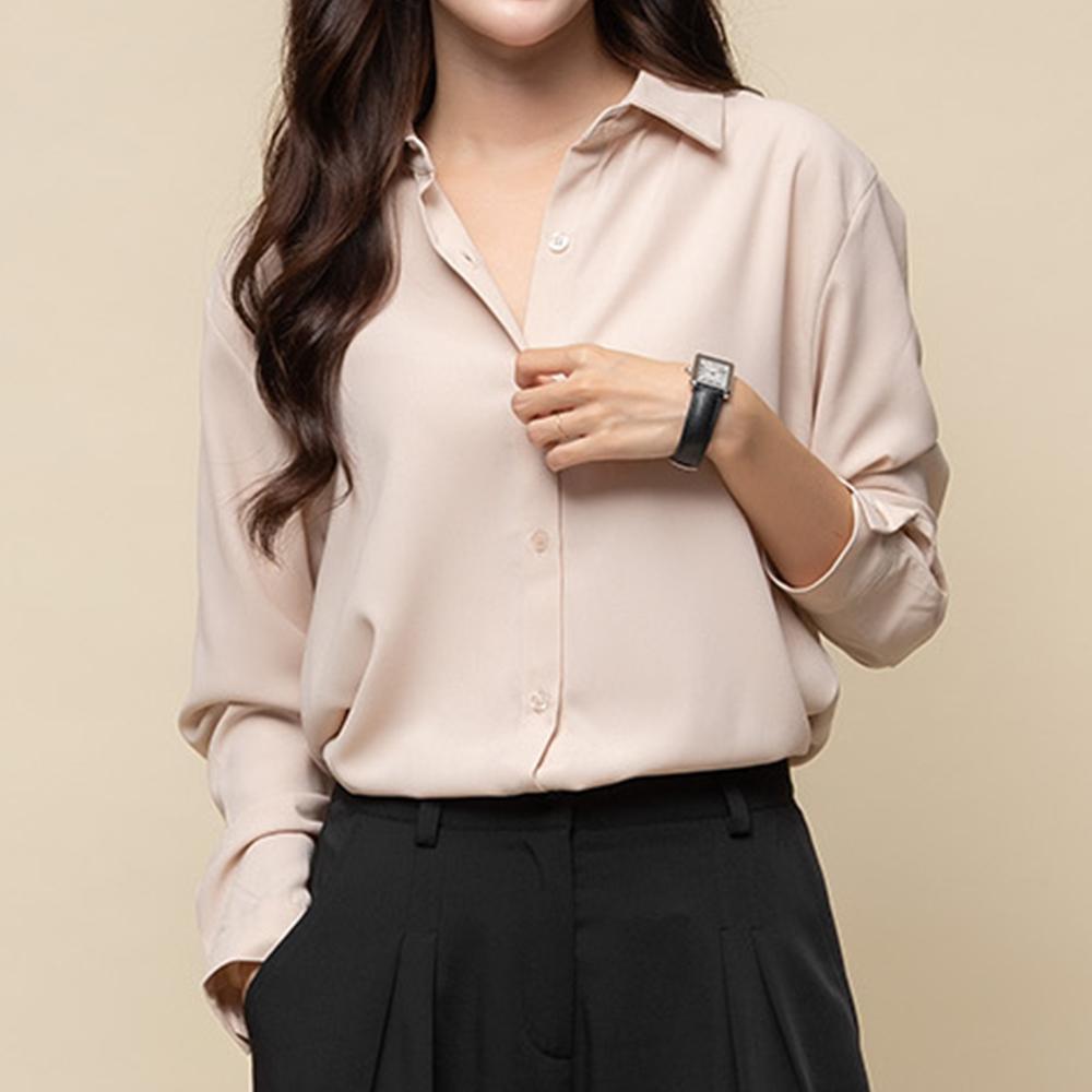 [여성패션] 캐럿 여성 베이직 셔츠 블라우스 - 랭킹83위 (14300원)