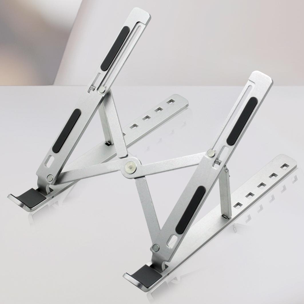 홈플래닛 접이식 휴대용 알루미늄 노트북 거치대 (휴대용 파우치 포함)-9-4971807620