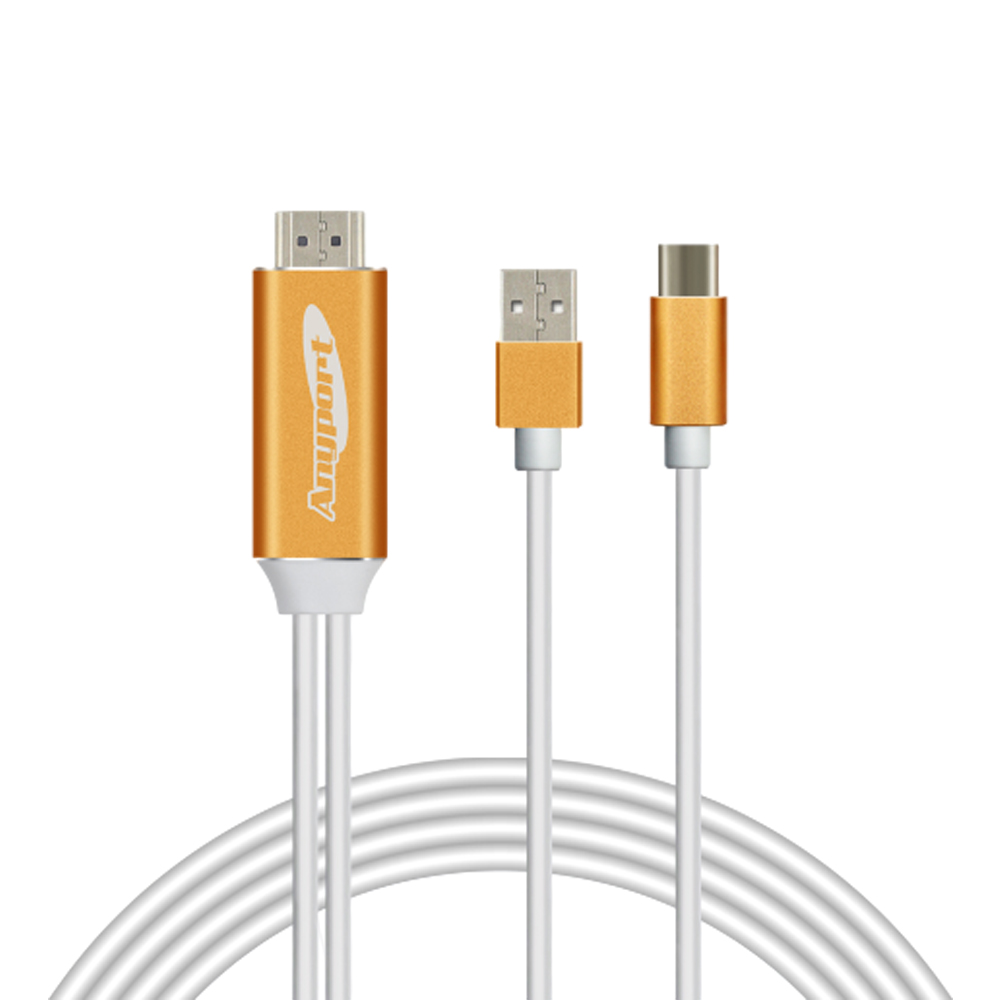 애니포트 HDMI 안드로이드 전용 미러링 케이블, 1개