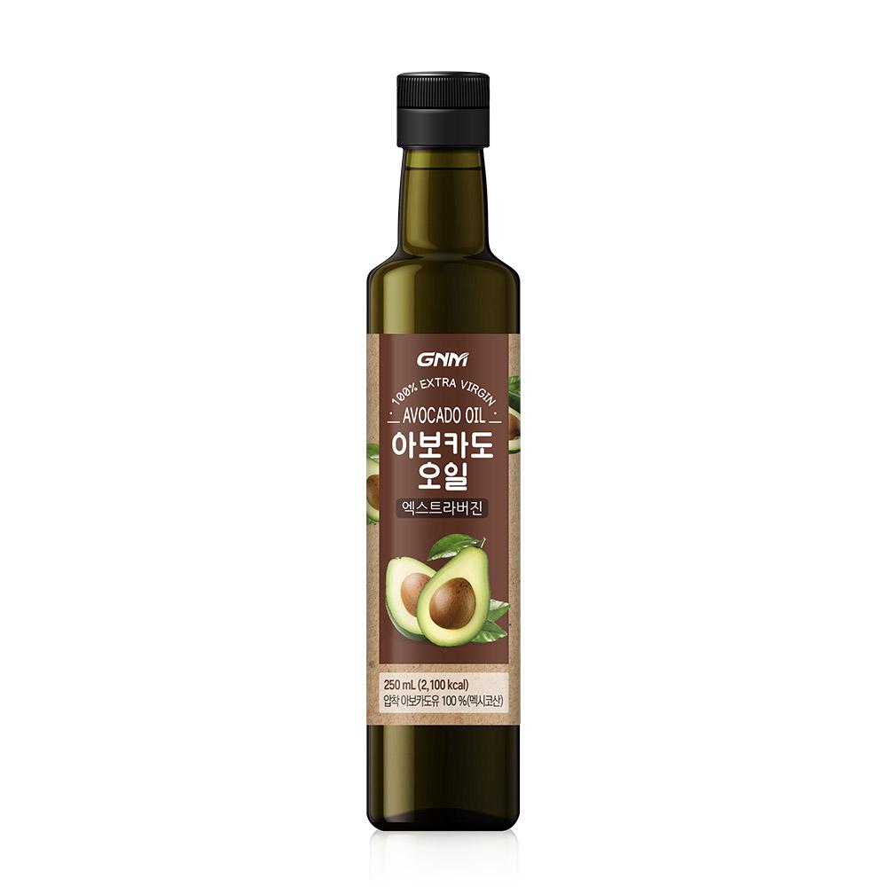 GNM자연의품격 엑스트라 버진 아보카도 오일, 250ml, 1병