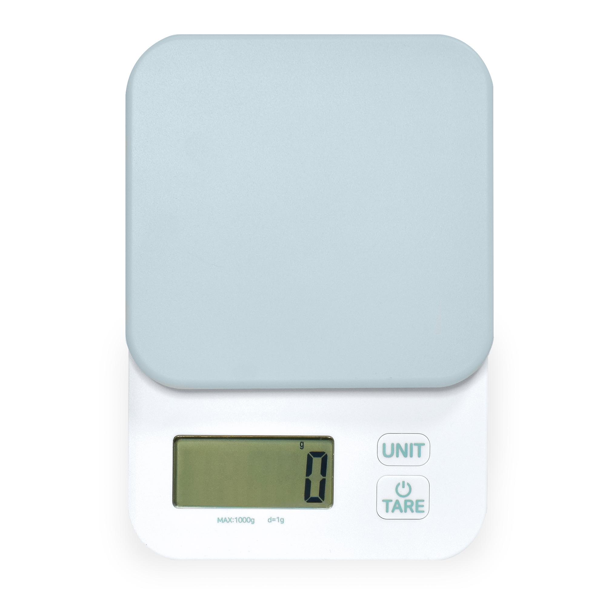 홈플래닛 파스텔 민트 디지털 정밀 주방저울 1kg
