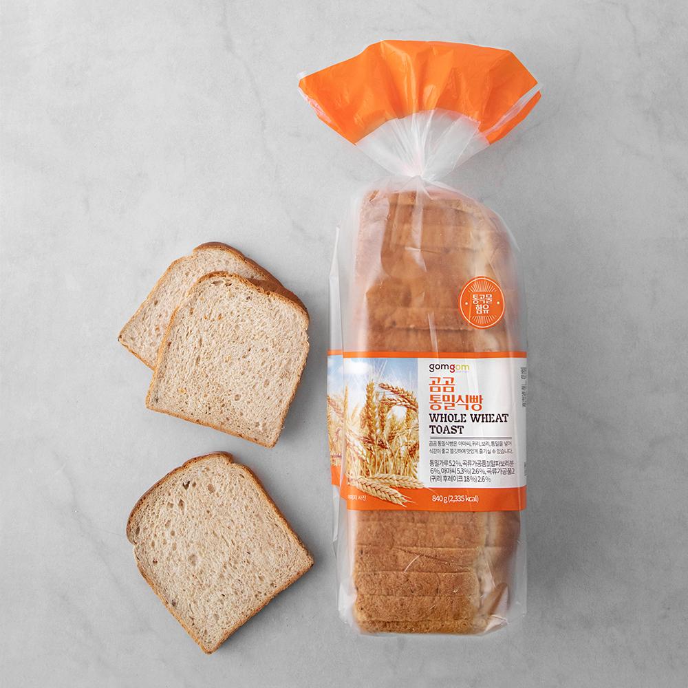 곰곰 통밀식빵, 840g, 1개