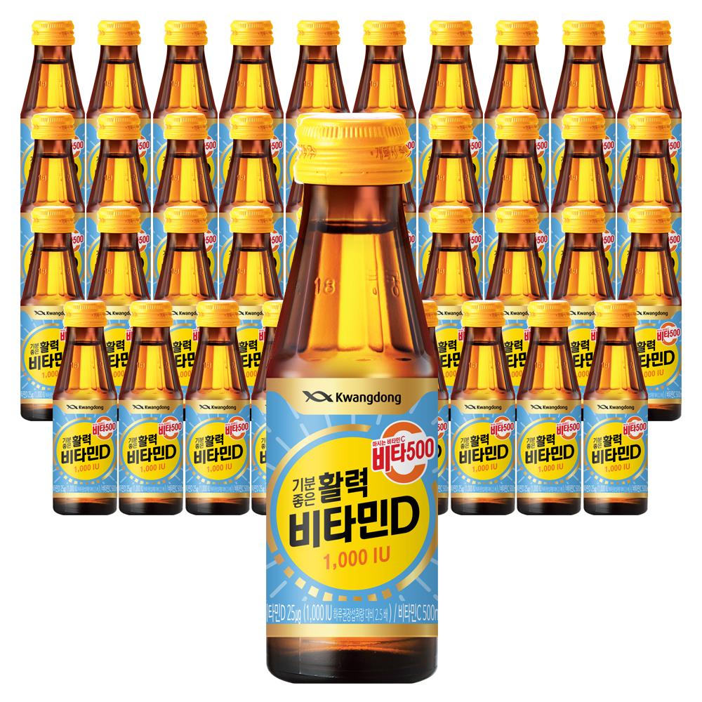 비타500 비타민D 음료 1000 IU, 40개, 100ml