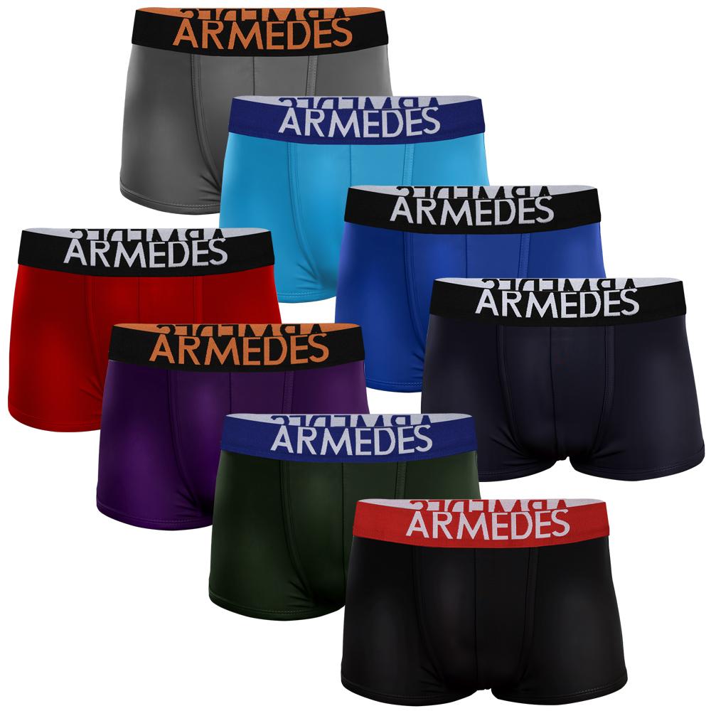 아르메데스 남성용 컬러 드로즈 팬티 8p 세트 AR-04