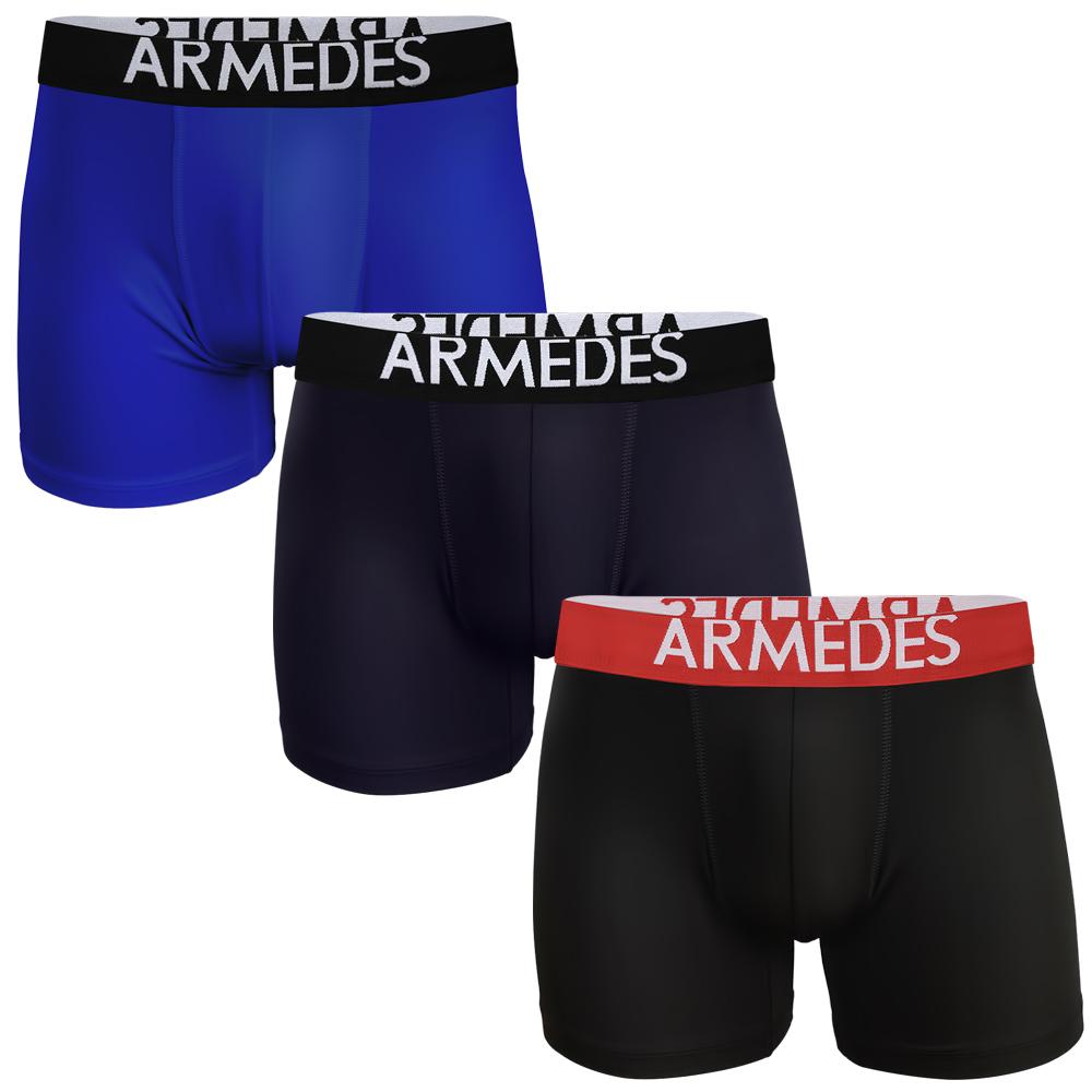아르메데스 남성용 기능성 롱 드로즈 팬티 3p 세트