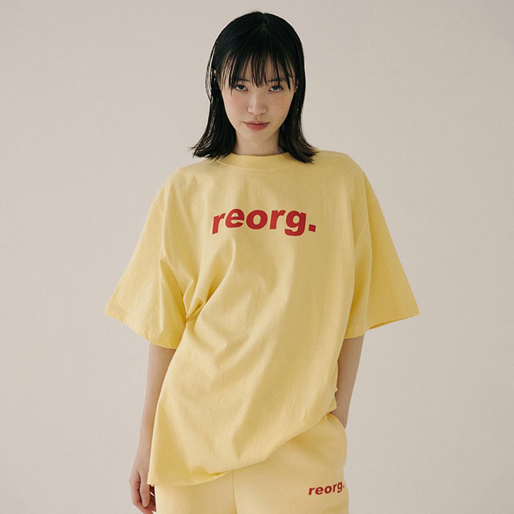 리올그 여성용 PRINTING 반팔 티셔츠