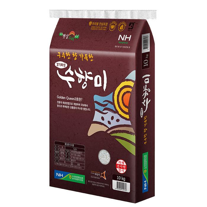 농협 수라청 골드퀸 수향미, 10kg, 1개