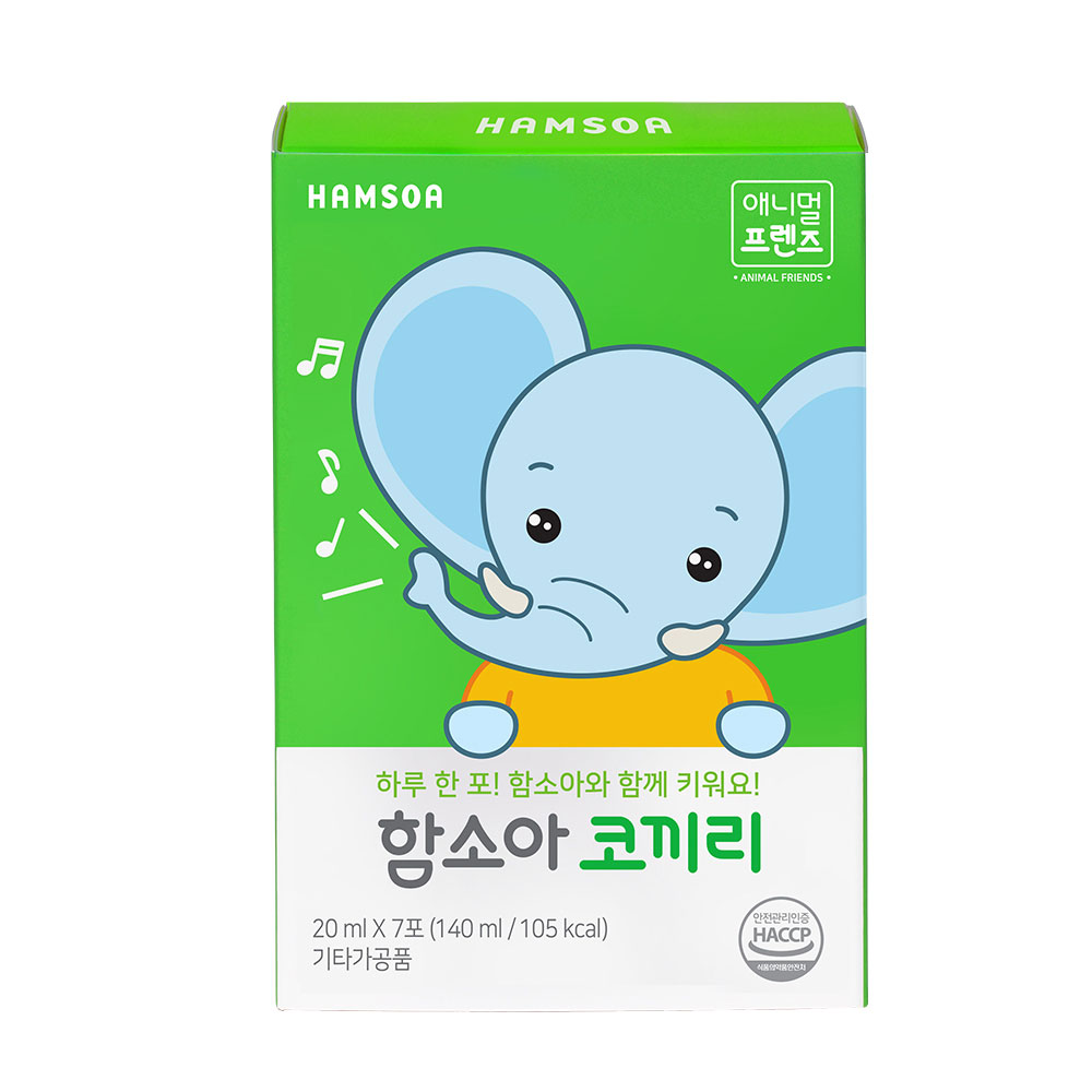 함소아 코끼리 영양제, 20ml, 1개
