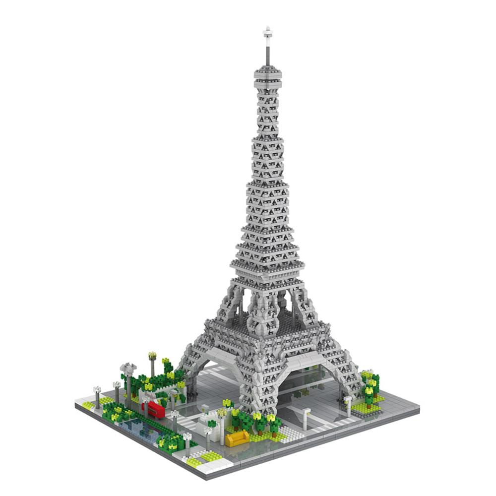 YZDiamond 대형 미니 나노블럭 에펠탑 YBC-YZ069 3369p, 혼합색상