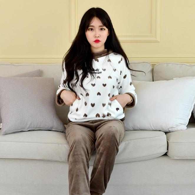 라운드하트 여성 수면 잠옷세트